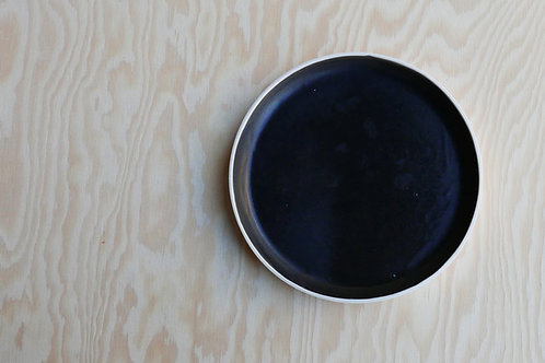 Vei small plate, black