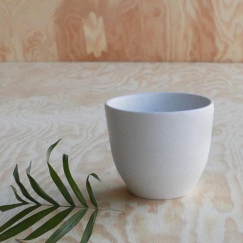 Lys espresso cup, white