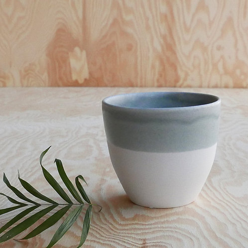 Lys coffee cup, grey blue