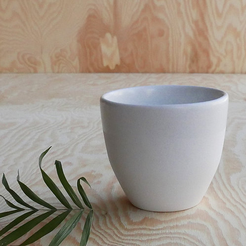 Lys coffee cup, white