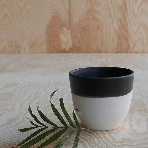 Lys espresso cup, black