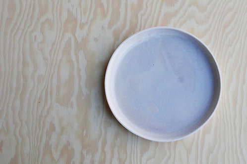Vei small plate, stained grey