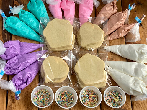 "Party Size ""minimum 4"" Cookie Decorating Kit"