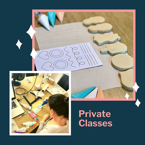 Personalized Private Decorating Class