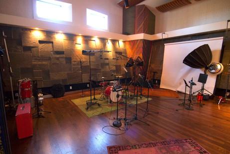 Main Room with Drum Setup and Photo Setup