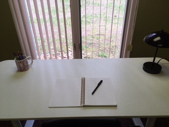 Awesome New Writing Space!