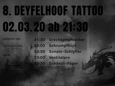 Kein 8. Deyfelhoof Tattoo und Passiven Apéro