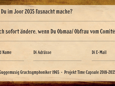 Projekt Time Capsule 2035