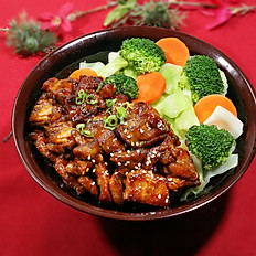 Spicy Pork Chop Bowl