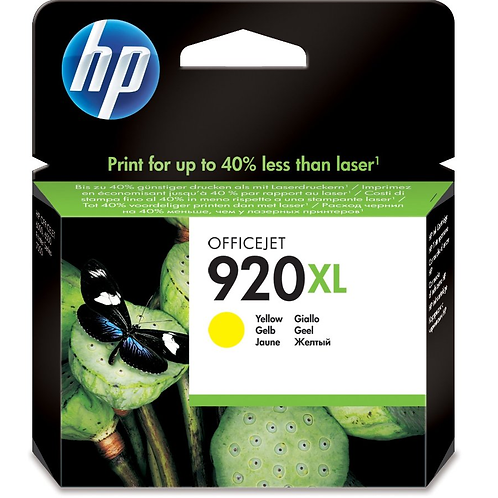 HP 920Yellow XL