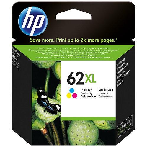 HP 62 Tricolore XL