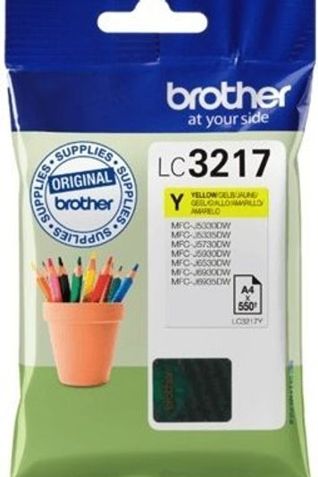 BROTHER LC3217 YELLOW