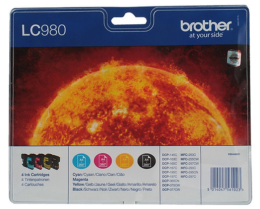 Brother LC980 Pack