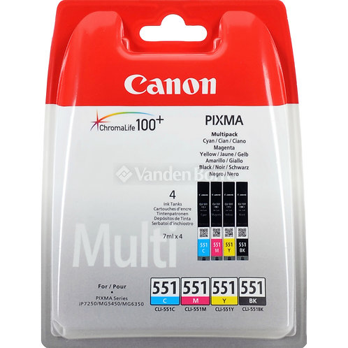 Canon 551 PACK