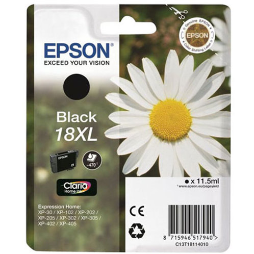 Epson 18 Black XL
