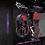 Thumbnail: WHITE SHARK HEADSET GHS-1641 PANTHER BLACK/RED