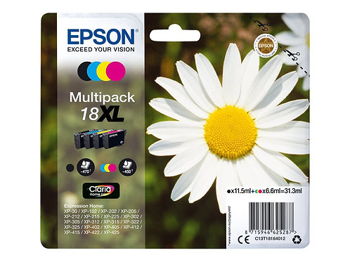 Epson 18 XL Pack
