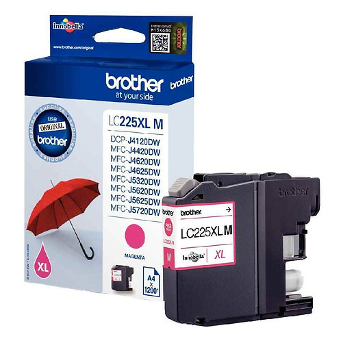 Brother LC225 Magenta XL