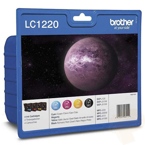 Brother LC1220 Pack