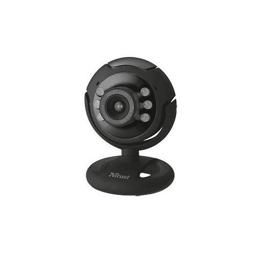 Trust SpotLight Pro webcam 1,3 MP 1280 x 1024 pixels USB 2.0 Noir micro intégré