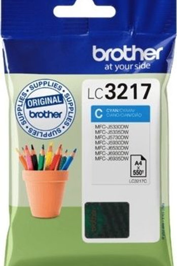 BROTHER LC3217 CYAN