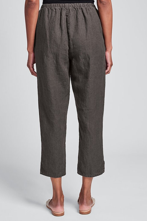 FLAX POCKET ANKLE PANT