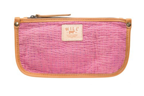 KANTHA QUILTED CLUTCH