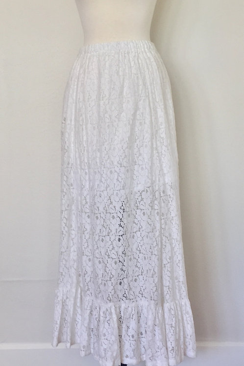 LACE SUNDAY SKIRT starting at