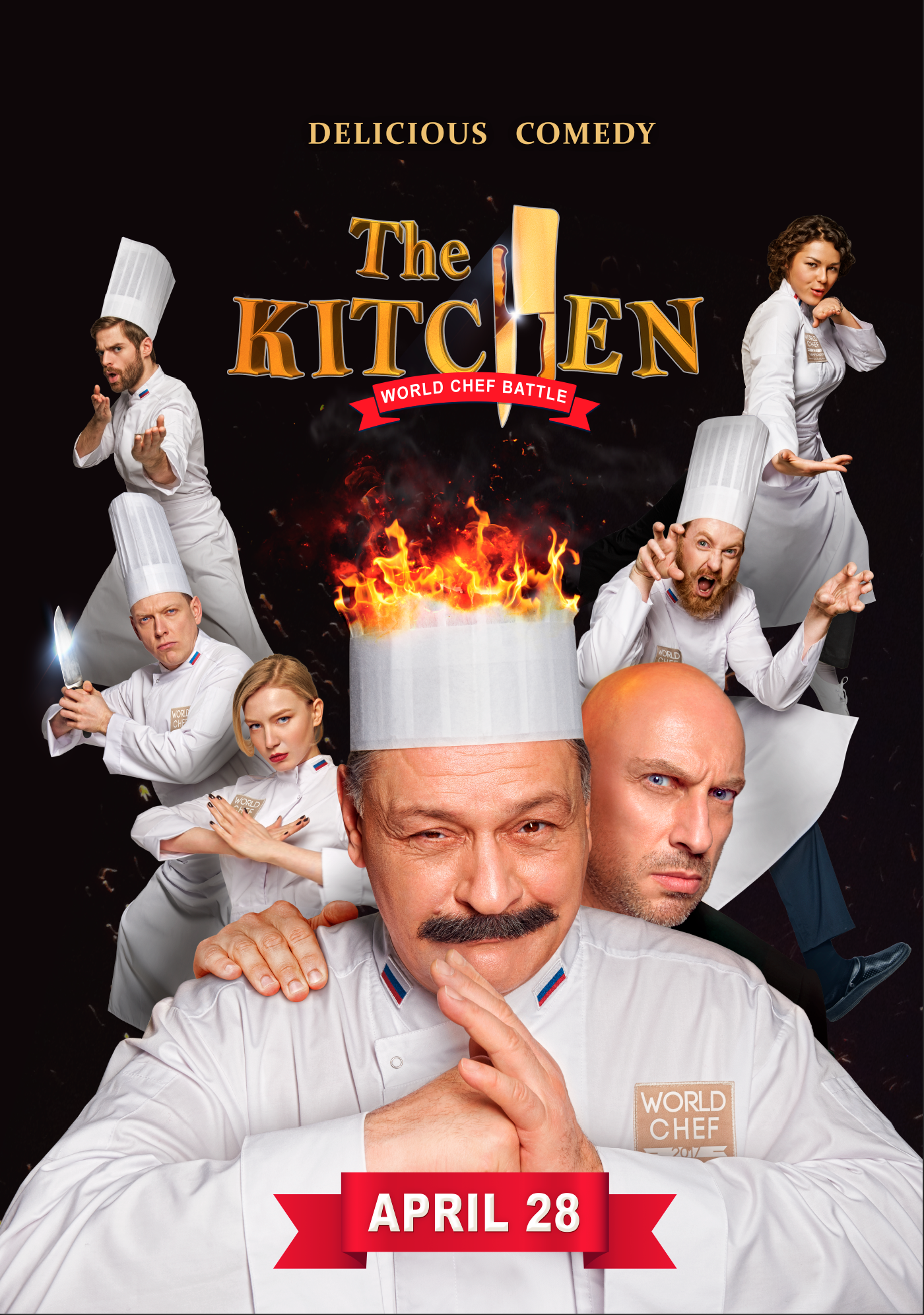The Kitchen: Wold Chef Battle