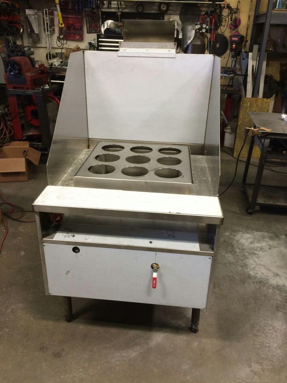 1-Burner Noodle Cooker(9 holes)