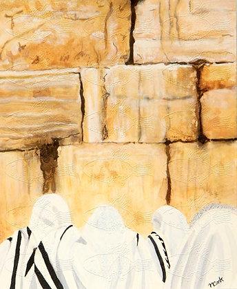 M14 PRAYING AT THE WALL
