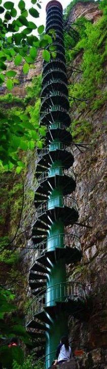 Stairway to heaven, Taihang Mountains, Linzhou, China.jpg