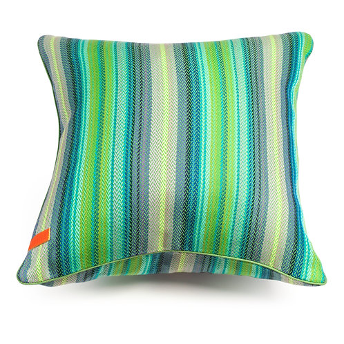 Spring Herringbone cushion