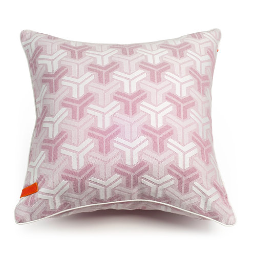 Trio Blush Pink cushion