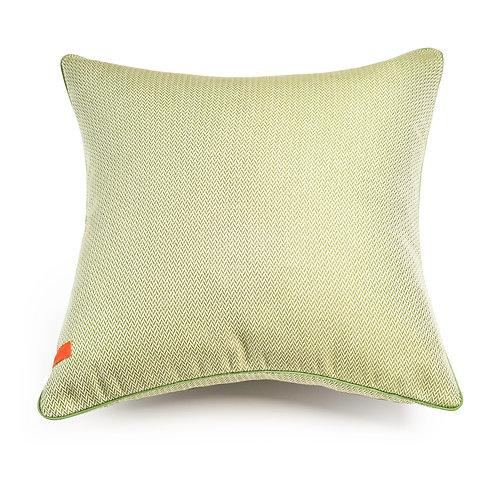 Herringbone Pear Green cushion