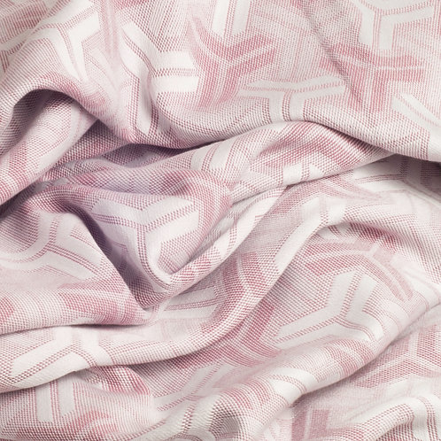 Trio Blush Pink throw