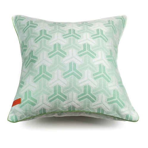 Trio Mint Green cushion
