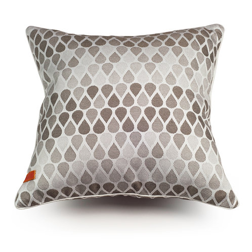Waterdrops Beige cushion
