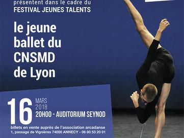 Le jeune ballet du CNSMD de Lyon