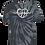 Thumbnail: CHOOSE YOUR DAY Logo Tie Dye (Black & Grey)