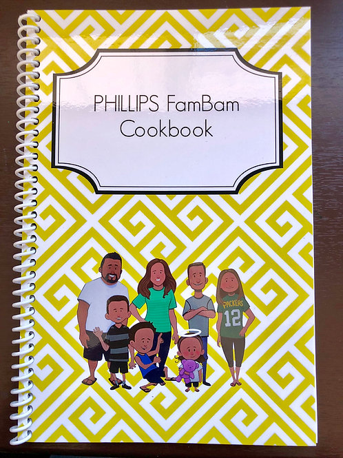 PHILLIPS FamBam Cookbook SIGNATURE SERIES! (PRE-ORDER)