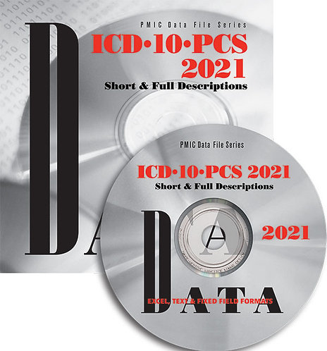 ICD-10-PCS 2021 Data Content (Single user)