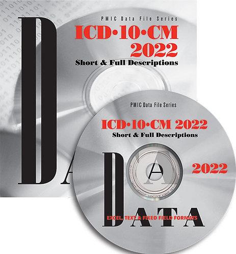ICD-10-CM 2022 Data Content (Single user)