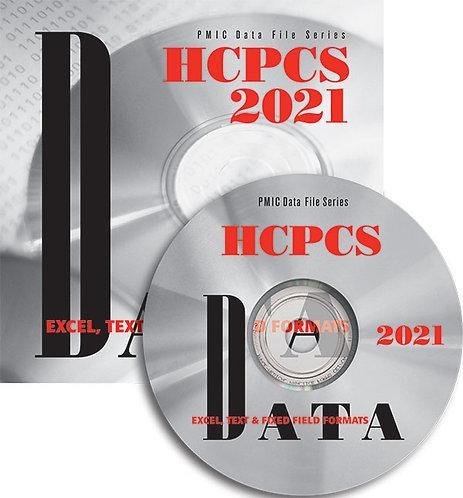 HCPCS 2021 Data Content (Single user)