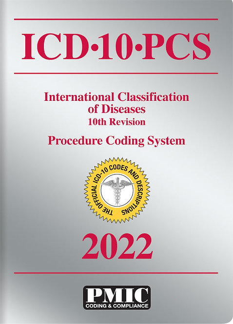 ICD-10-PCS 2022 Book