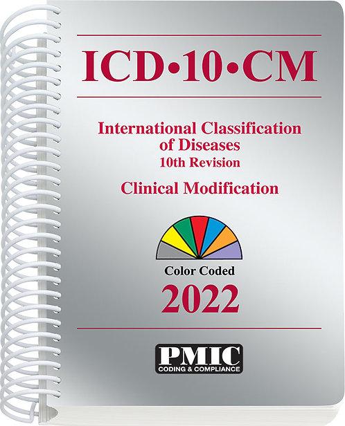 ICD-10-CM 2022 Spiral Bound