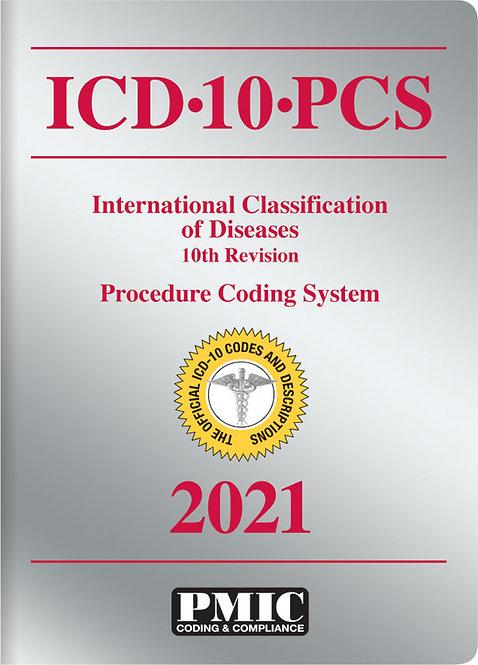 ICD-10-PCS 2021 Book