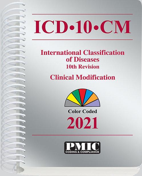 ICD-10-CM 2021 Spiral Bound