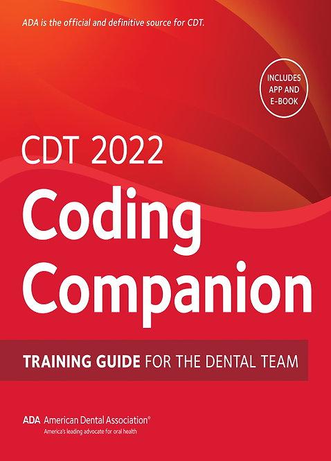 CDT® 2022 Coding Companion