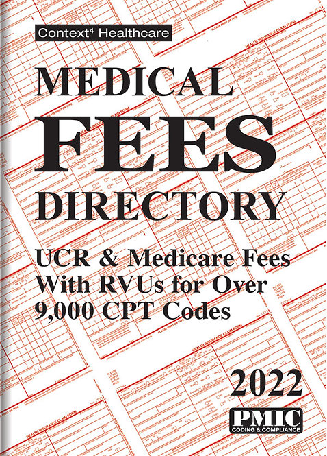 Medical Fees Directory 2022